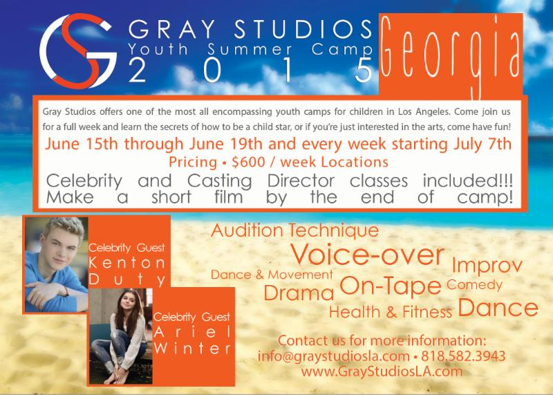 Gray Studios // Summer Camp!